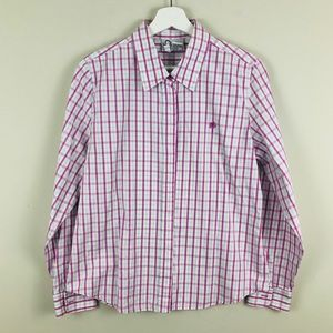 Lilly Pulitzer Plaid Button Down Shirt